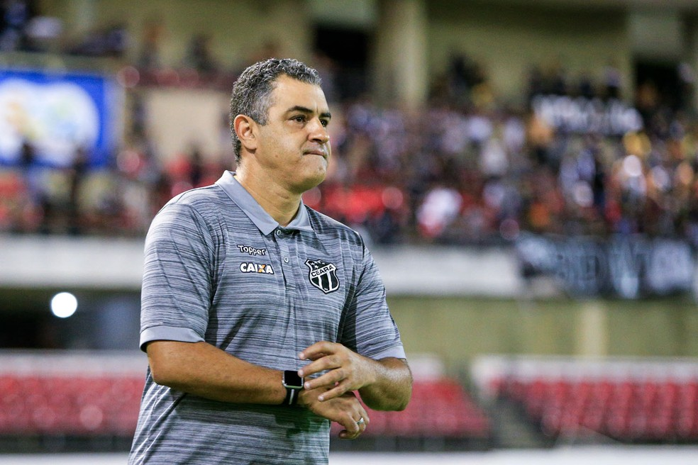 Marcelo Chamusca, ex-técnico do Ceará (Foto: Ailton Cruz / Gazeta de Alagoas)