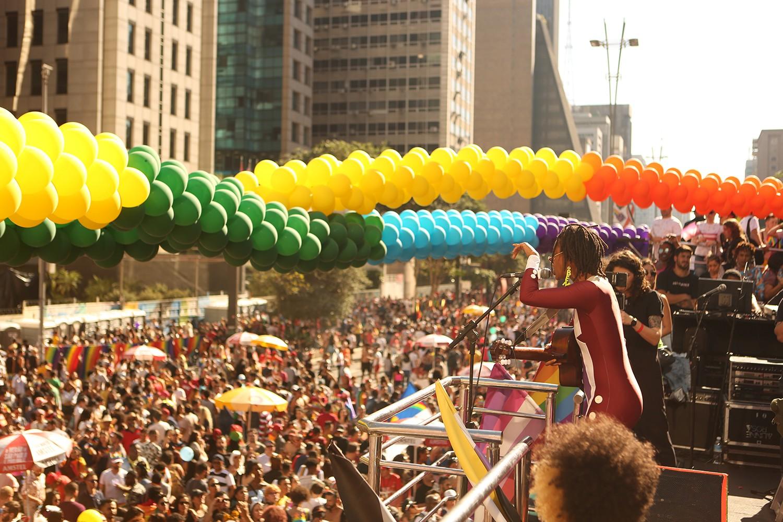 Um giro pela Parada LGBT em São Paulo (Foto: Caio Ramalho, Karla Brights e Felipe Damasco)