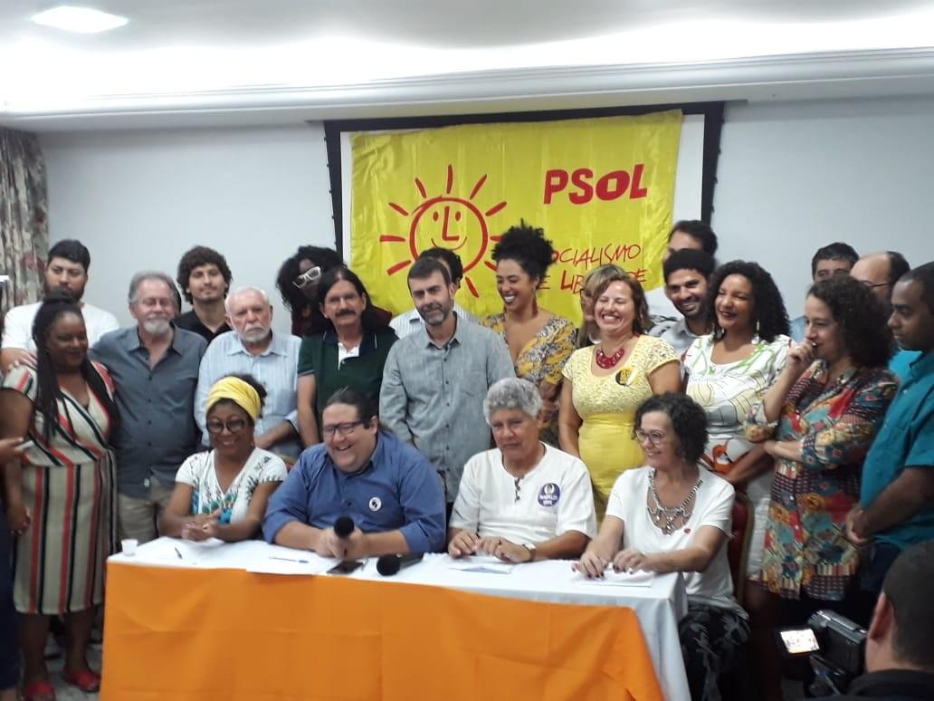 PSOL oficializa candidatura de Tarcísio Motta ao Governo do RJ