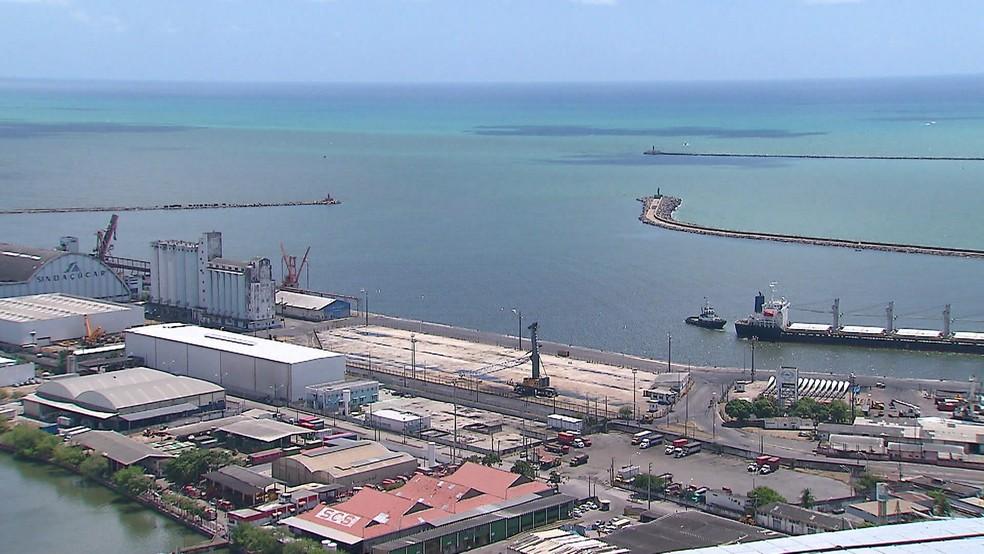 Porto do Recife fica na região central da cidade — Foto: Reprodução/TV Globo