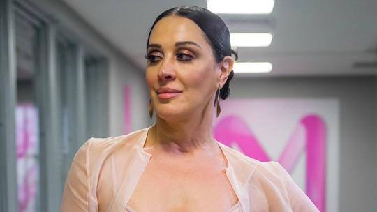 Claudia Raia opina sobre maquiagem e cabelo de Samira: 'Meio Kim Kardashian'