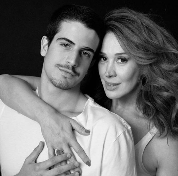Enzo Celulari e Claudia Raia (Foto: Reprodução / Instagram)