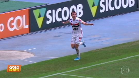 No fim, São Paulo ganha do Botafogo no Rio e sobe na tabela; Pablo fala