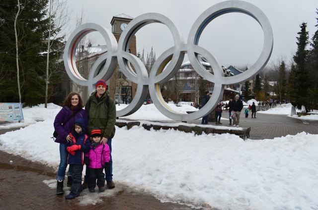 Gisele com o marido e os filhos (Foto: Arquivo pessoal)