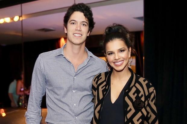 Lucas Kalil Aluani e Mariana Rios (Foto: Manu Scarpa/Brazil News)