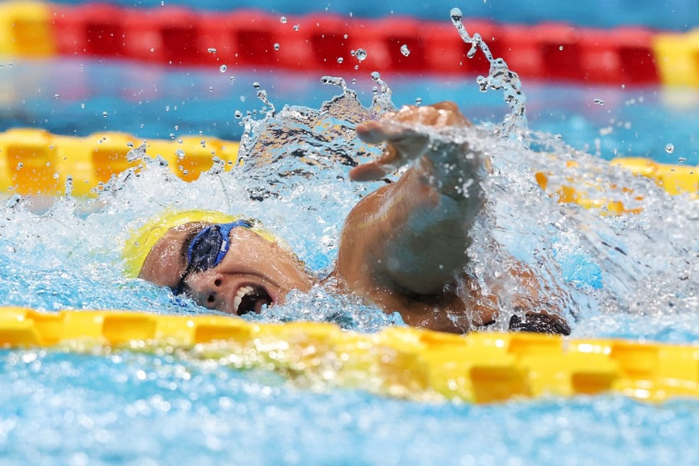 Mariana Gesteira Ribeiro é bronze nas Paralimpíadas — Foto: Miriam Jeske/CPB