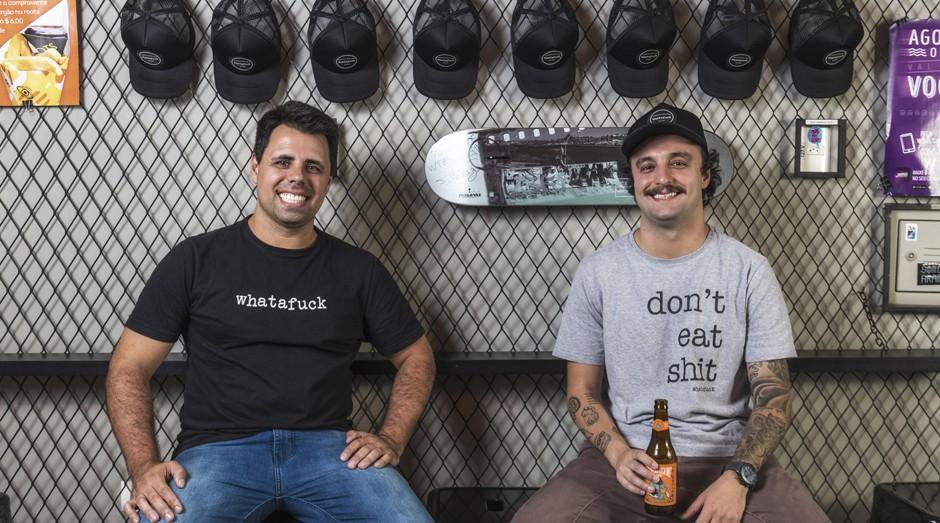 Guilherme, Daniel, Whatafuck (Foto: Divulgação)
