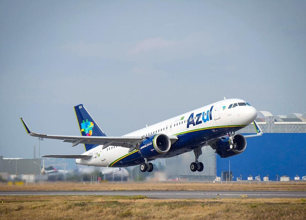 Azul vai operar em 27 cidades neste período — Foto: Divulgação