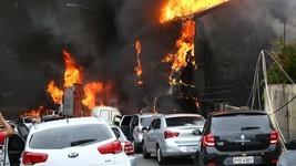 Queda de avião em SP mata 2 e fere ao menos 6 (Newton Menezes/Futura Press/Estadão Conteúdo)