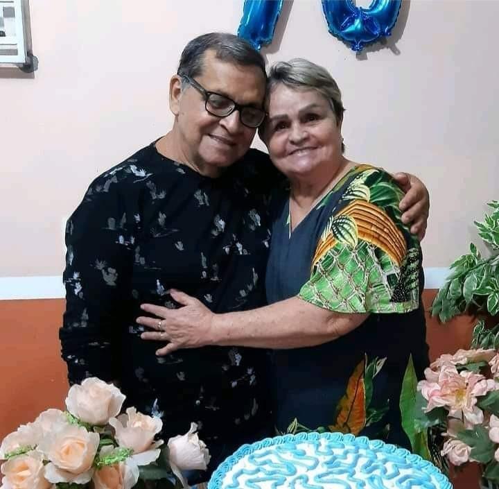 Junto há 48 anos, casal morre vítima da Covid-19 no intervalo de 24h no AC: 'Um não viveria sem o outro', diz filha