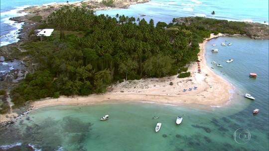 Pouco conhecida dos turistas, Ilha de Santo Aleixo impressiona pela beleza