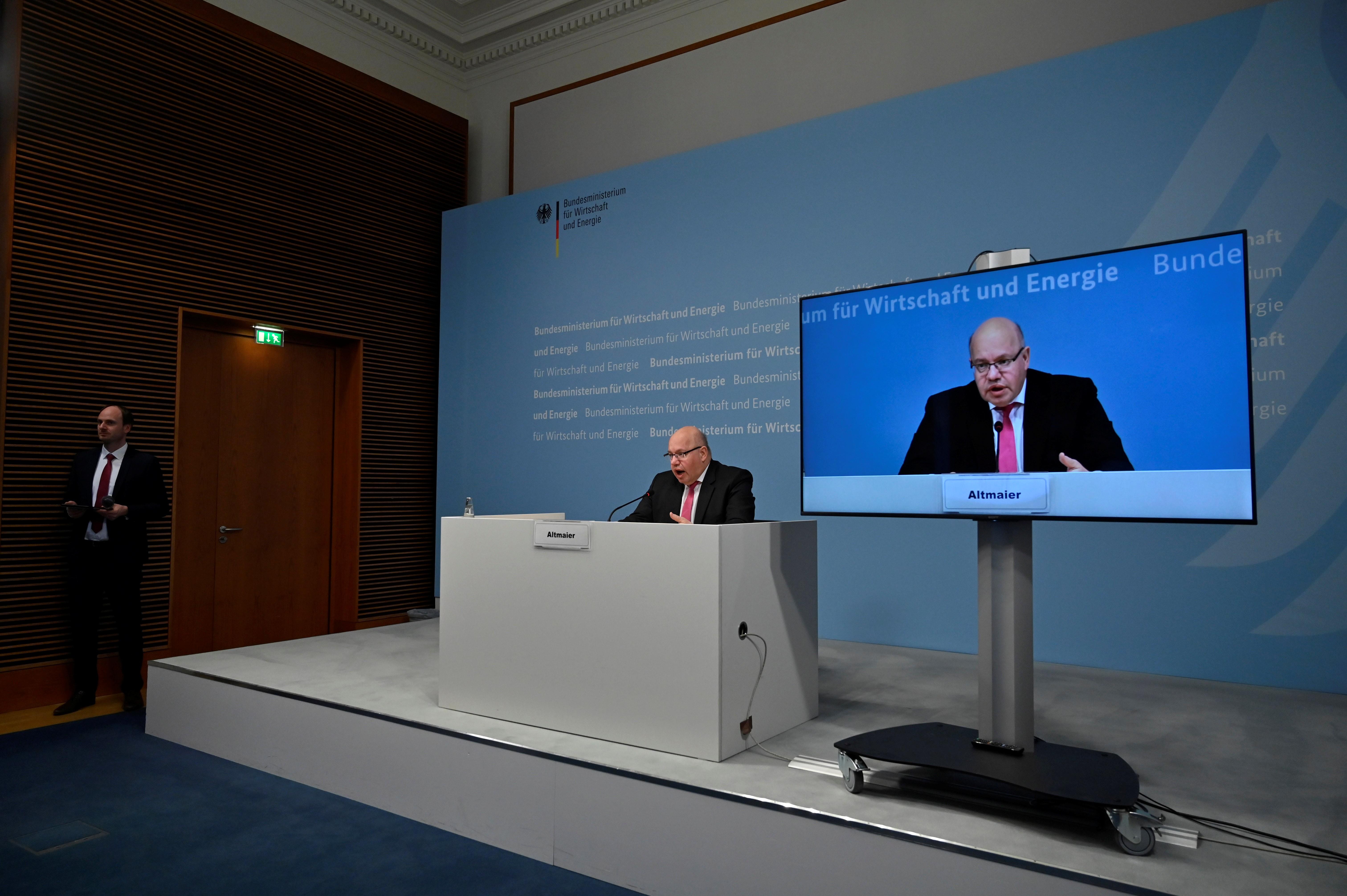 Situação econômica alemã é a mais grave desde a Segunda Guerra Mundial, diz ministro