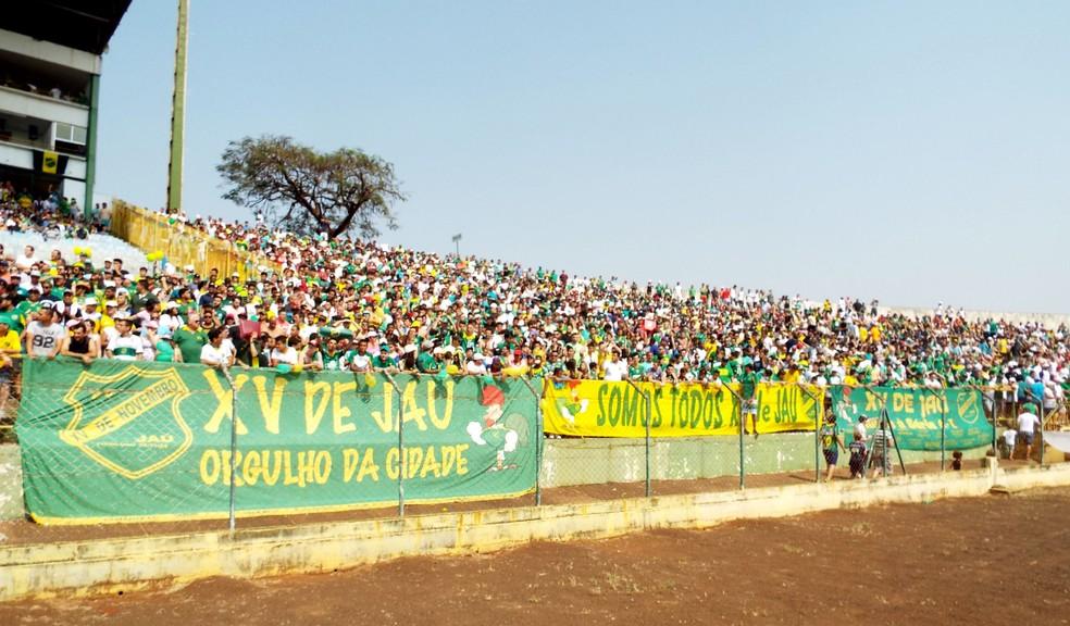 XV de Jaú teve a maior média de público da Segundona em 2016 (Foto: Tiago Pavini / EC XV de Jaú)