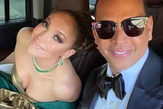 Jennifer Lopez e Alex Rodriguez (Foto: Instagram)