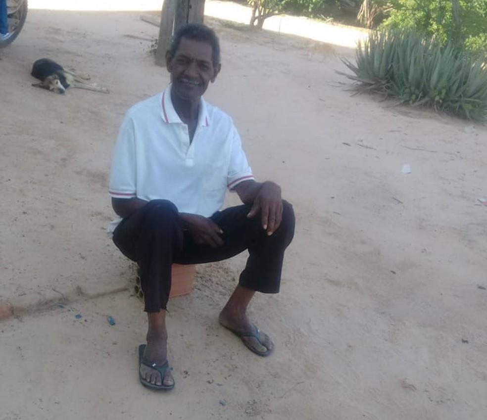 Idoso estava desaparecido desde o dia 11 de dezembro  — Foto: Arquivo pessoal