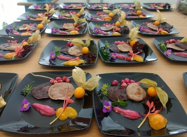 Receitas com PANC's - plantas alimentícias não convencionais - estão entre as atrações do curso que a  Escola de Botânica promove em parceria com o blog Matos de Comer (Foto: divulgação)