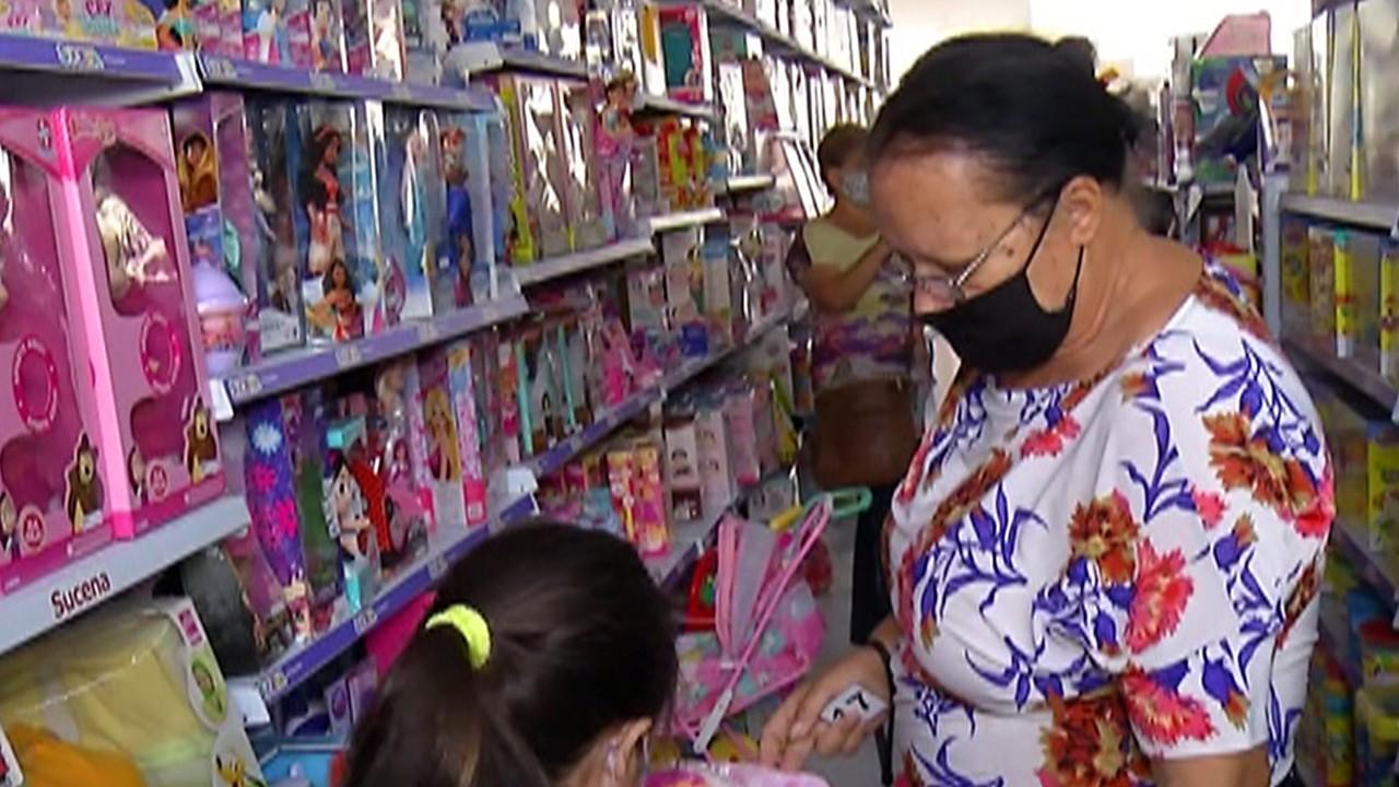 Lojas de brinquedos do Alto Tietê ficam cheias