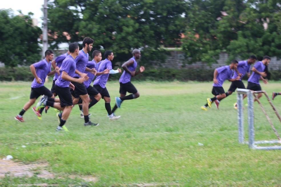 Flamengo-PI corre por fora e pode ser eliminado neste domingo mesmo sem entrar em campo (Foto: Arthur Ribeiro/GloboEsporte.com)