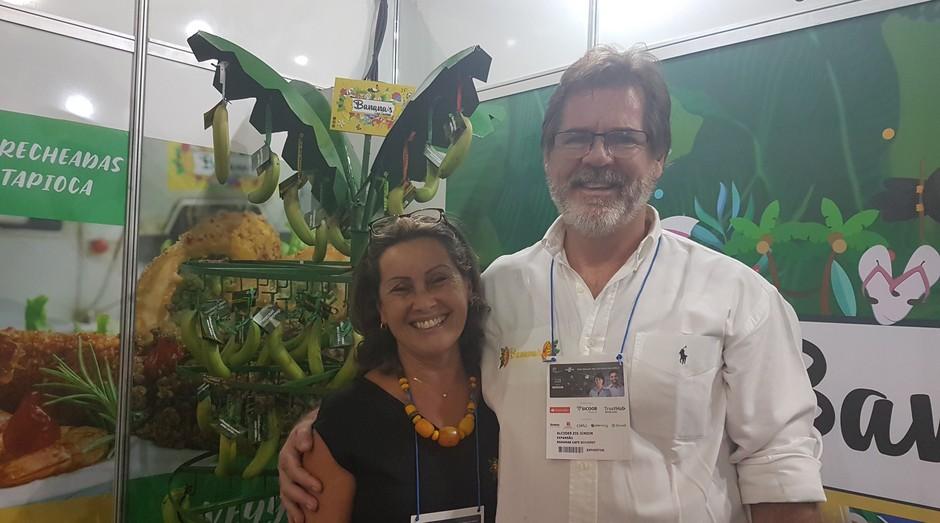 Alcides Zis e Suzete Cavalli fundadores da Banana's Café Gourmet (Foto: Amanda Oliveira/ Editora Globo )