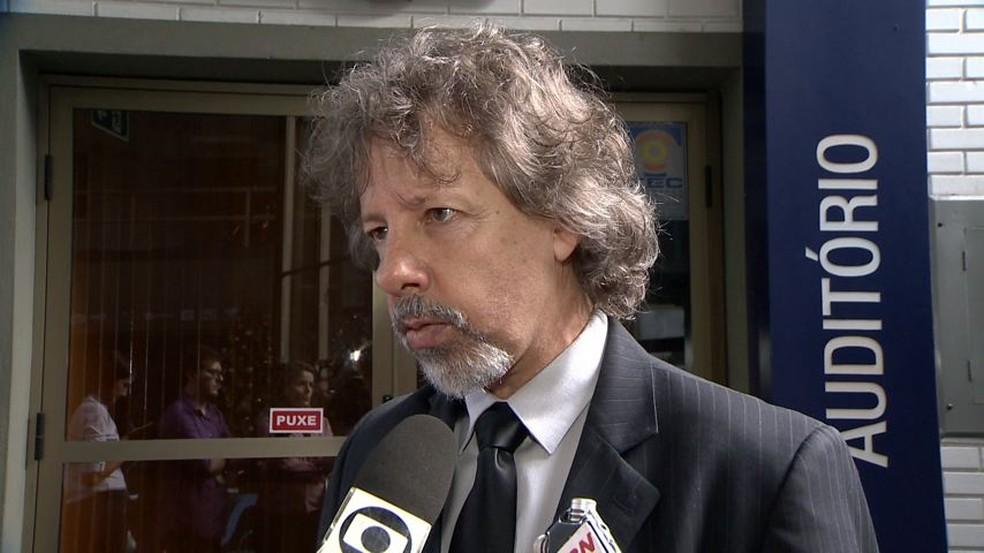 Aridelmo Teixeira é candidato ao governo do ES pelo PTB (Foto: Paulo Cordeiro/TV Gazeta)