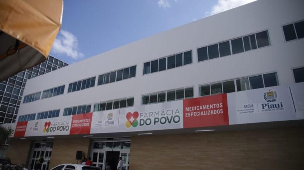 Farmácia do Povo, em Teresina — Foto: Divulgação/Ccom