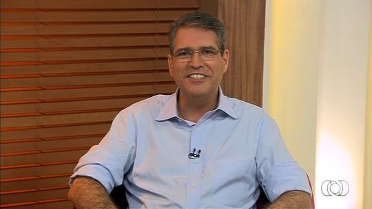 Francisco Jr é entrevistado pelo Jornal Anhanguera 1ª Edição