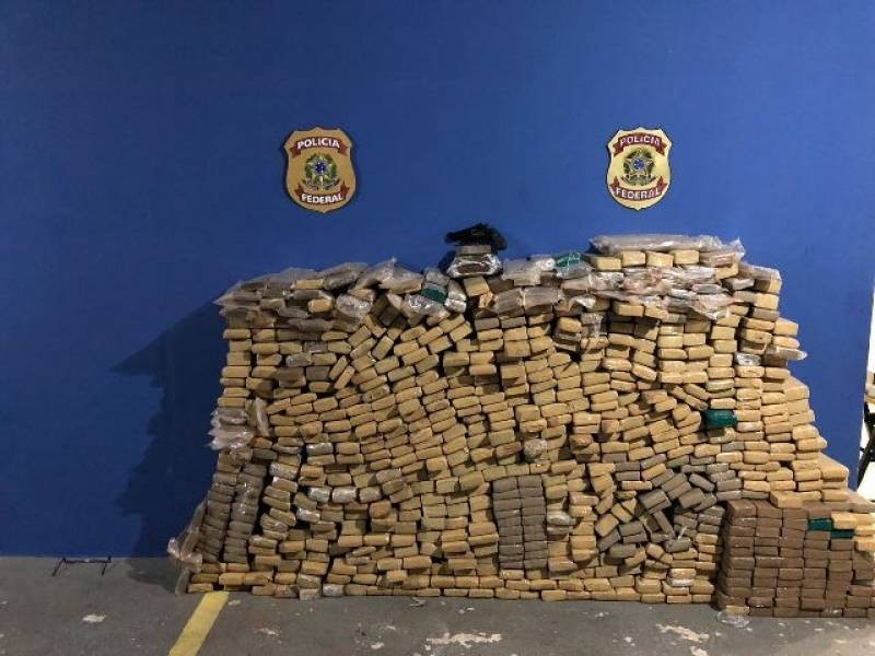 Carga com quase 700 quilos de maconha é apreendida em Vilhena, RO