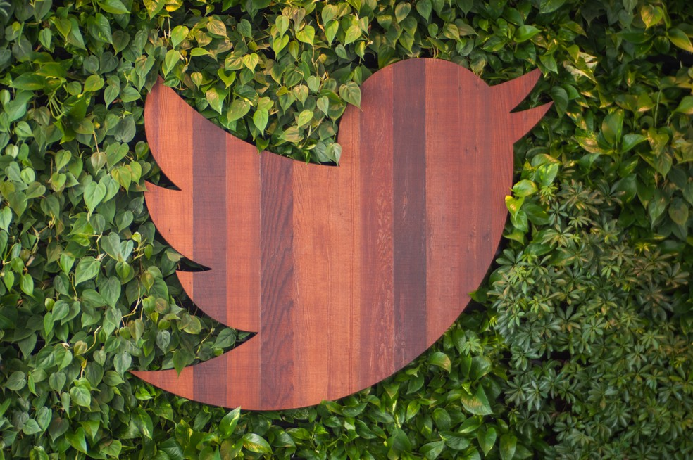 Logo na sede do Twitter — Foto: Marisa Allegra William/Twitter/Divulgação