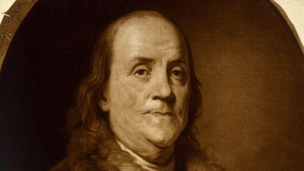 Benjamin Franklin provou que pessoas bagunceiras podem ser bem-sucedidas (Foto: LIBRARY OF CONGRESS via BBC News Brasil)