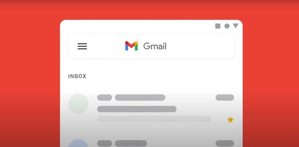 Novo logotipo do Gmail — Foto: Google/Divulgação
