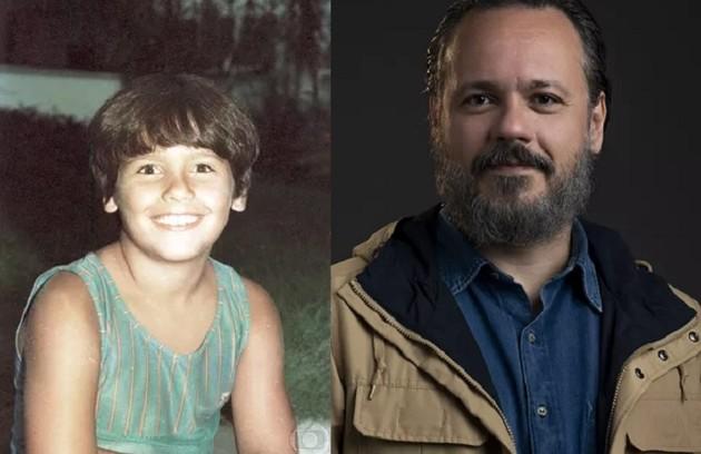Seu irmão mais novo, Danton Mello, seguiu os mesmos passos e começou a carreira aos 10 anos, em 'A gata comeu'. O ator está no elenco de 'Um lugar ao Sol', próxima novela das 21h (Foto: Reprodução)