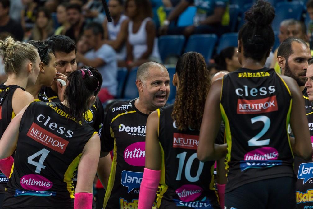 """Paulo Coco acredita que o Praia Clube está preparado para o """"Super Set"""" (Foto: Diego Maranhão/Tabela Carioca)"""