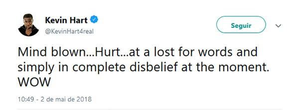 Kevin Hart (Foto: Twitter)