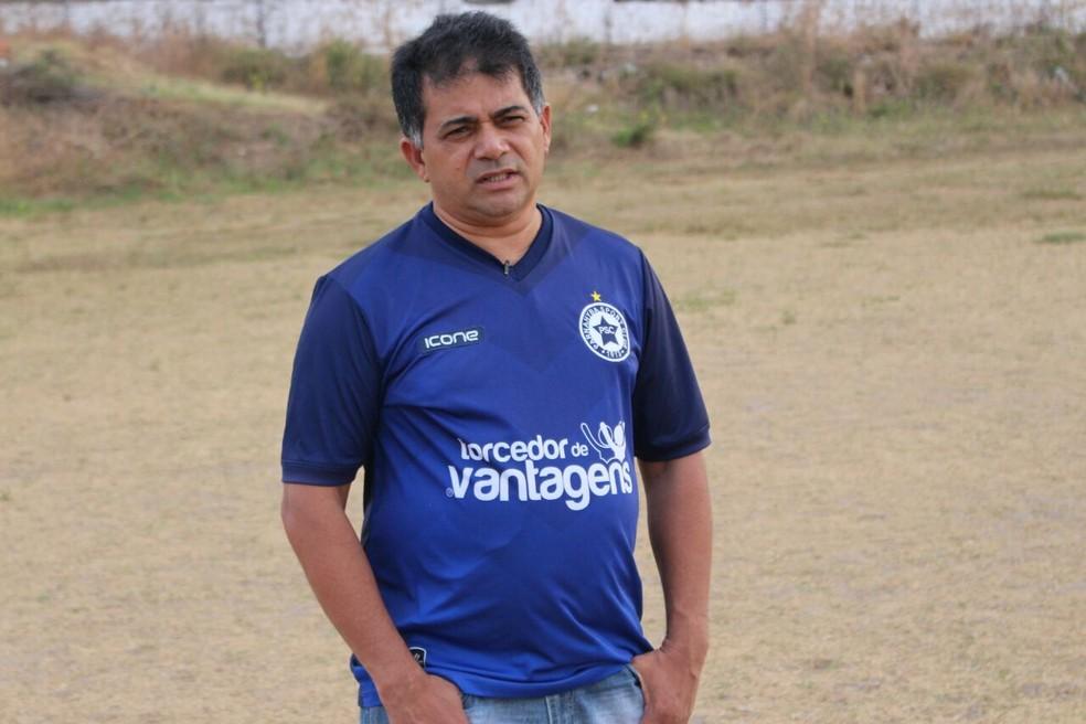 Presidente do Parnahyba condena pedido de antecipação de jogo feito pelo CSA (Foto: Wenner Tito )