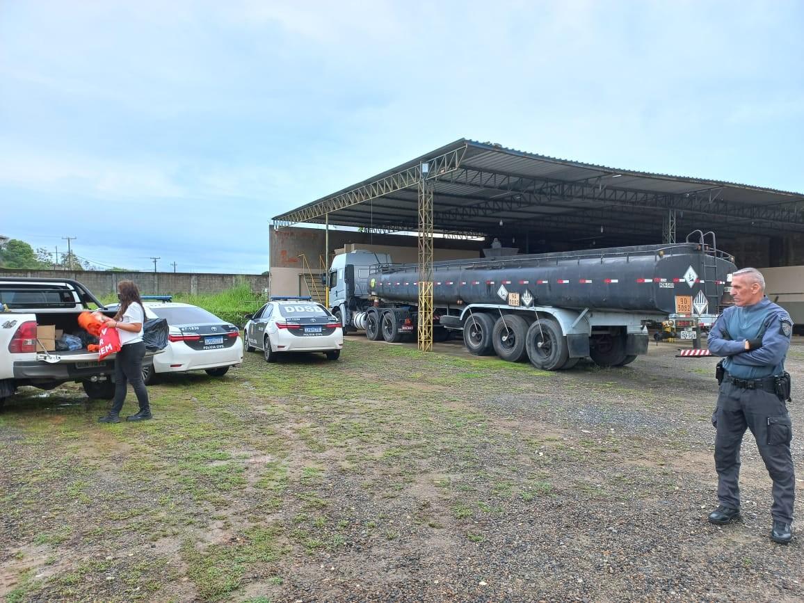 Polícia Civil faz operação contra quadrilha especializada em furto de combustíveis