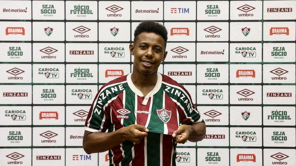 Wellington, do Fluminense — Foto: Lucas Merçon/FFC