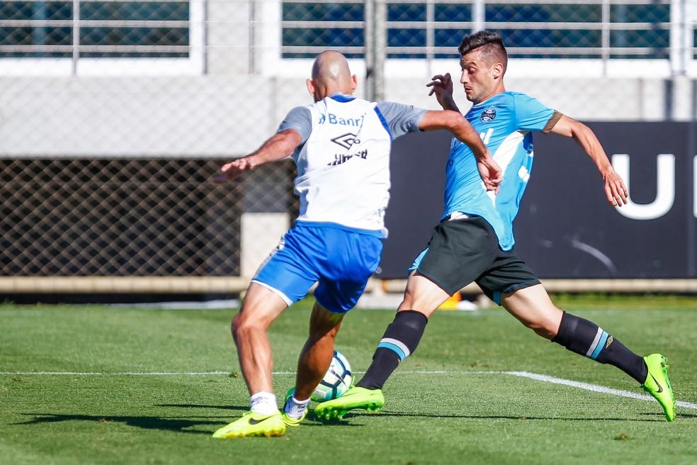 Lucas Poletto foi destaque (Foto: Lucas Uebel/Grêmio)