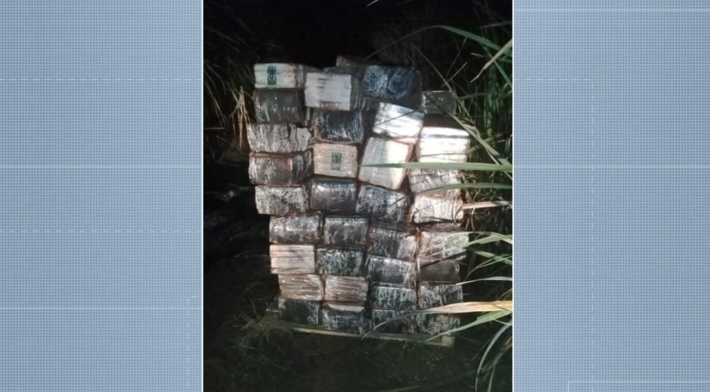 Polícia Militar apreende 1,5 tonelada de maconha na zona rural de Mogi Mirim