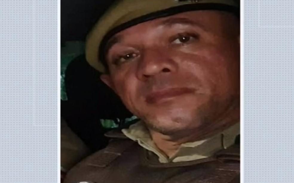 Josivan Rodrigues da Fé era sargento da PM e trabalhava na 91ª CIPM, em Capim Grosso — Foto: Reprodução/TV São Francisco
