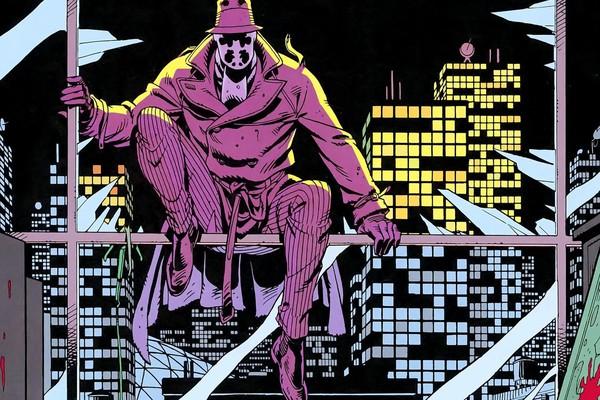 O personagem Rorschach da HQ Watchmen (Foto: Reprodução)