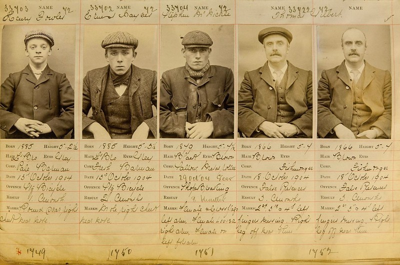 Documento mostra integrantes da verdadeira gangue Peaky Blinders  (Foto: Flickr/Mike/Creative Commons)