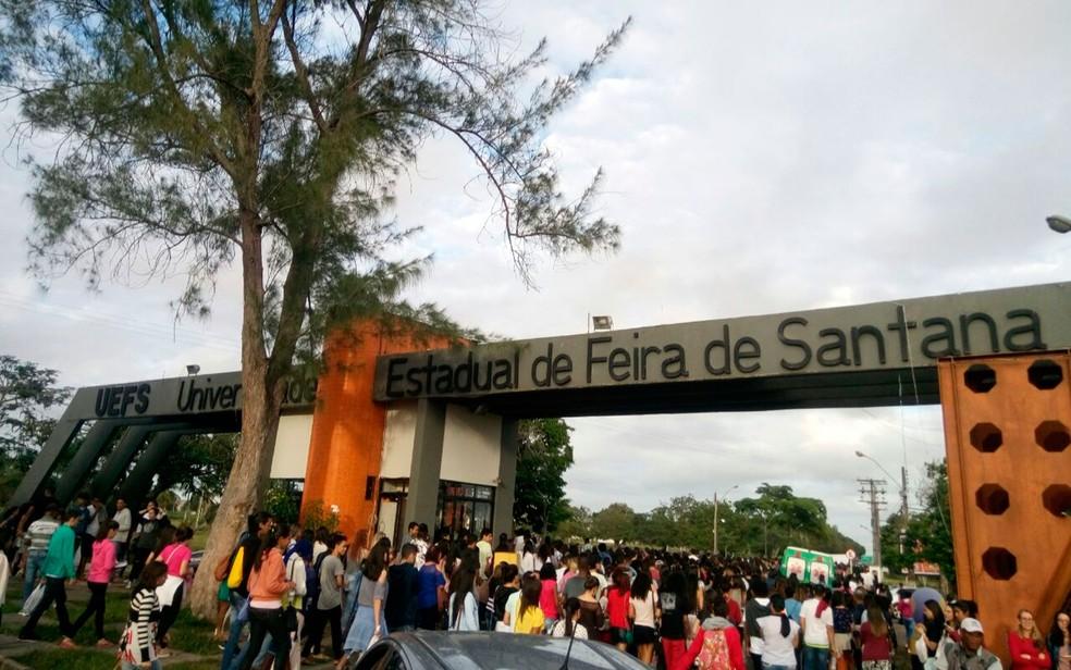 Universidade Estadual de Feira de Santana (Uefs) oferece duas vagas extras para indígenas e quilomobolas (Foto: Divulgação/Uefs)