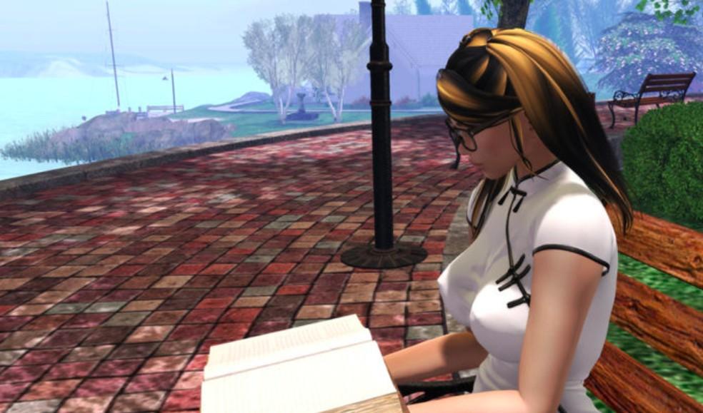Second Life permite que jogadores experimentem uma realizade completamente virtual — Foto: Reprodução/Felipe Vinha