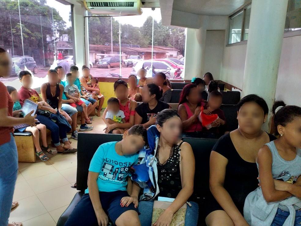 Vistoria cita superlotação e alta demanda para hospital — Foto: CRM-AP/Divulgação