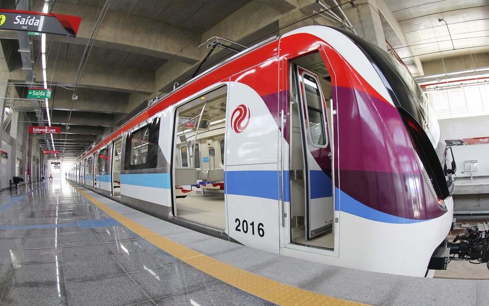 Tarifa do metrô passa a custar R$ 3,70 a partir do dia 2 de janeiro de 2017 (Foto: Manu Dias/GOVBA)