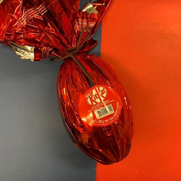 Ovo Kitkat (Foto: Divulgação)