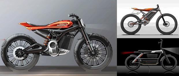 Elétricas da Harley-Davidson 2022 (Foto: divulgação)
