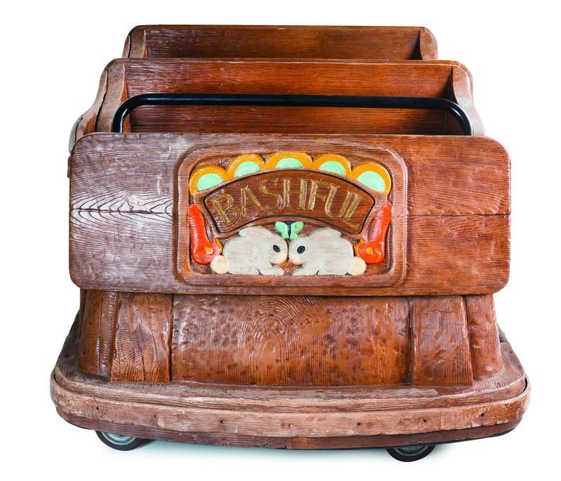 Antigo carrinho de brinquedo (Foto: Cortesia de Van Eaton Galleries)