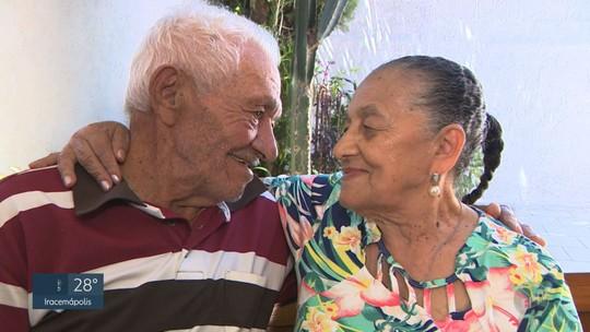 Convivência, amizade na infância e amor: casal de Santa Bárbara celebra 70 anos de união