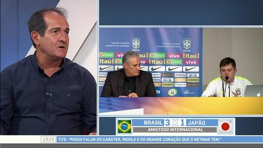 """Muricy: """"Foi bom para o Neymar esse desabafo, ele estava incomodado"""""""